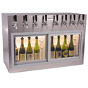 WineKeeper Monterey ETL 8 Bottle (Stainless Steel) #7991
