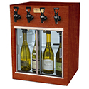 WineKeeper Monterey 4 Bottle (Mahogany) #13065