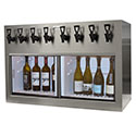 WineKeeper Monterey 8-Bottle (Stainless Steel) #7776