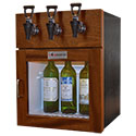 WineKeeper Napa 3 Bottle (Mahogany) #17326