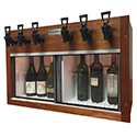 WineKeeper Napa 6 Bottle Mini (Mahogany) #17327