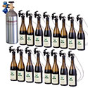 WineKeeper 16-Bottle Wine Tasting Station #16161