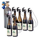 WineKeeper 6 Bottle Wine Tasting Station #19455