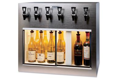 6 Bottle Wine Dispensers Nitrogen Amp Argon Preservation