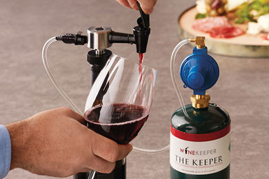 Keeper Wine Dispensing System Argon Amp Nitrogen Winekeeper