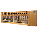 WineKeeper Magnum 16 Bottle (Oak) Dual Zone #16334