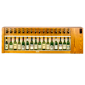 WineKeeper Magnum 16 Bottle (Oak) Single Zone #8000