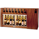 WineKeeper Magnum 8 Bottle (Mahogany) Single Zone #8002