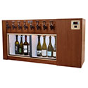 WineKeeper Magnum 8 Bottle (Mahogany) Dual Zone #16338
