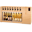 WineKeeper Magnum 8 Bottle (Oak) Dual Zone #16339