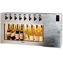 WineKeeper Magnum 8 Bottle (Stainless Steel #4) Dual Zone #16341