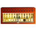 WineKeeper Monterey 12 Bottle (Mahogany) #7766