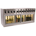 WineKeeper Monterey ETL 12 Bottle (Stainless Steel) #7982