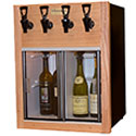 WineKeeper Napa 2 Red + 2 White (Oak) 220V #25598