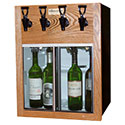 WineKeeper Napa 4 Bottle (Oak) 220V #25600