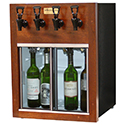 WineKeeper Napa 4 Bottle (Mahogany) 220V #25599