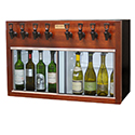 WineKeeper Napa 4 Red + 4 White (Mahogany) 220V #25601