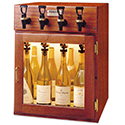 WineKeeper Sonoma 4 Bottle (Mahogany) 220V #25605