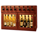 WineKeeper Sonoma 8 Bottle (Mahogany) 220V #25607