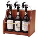 WineKeeper Vintner 3 Bottle (Mahogany) Argon #10544